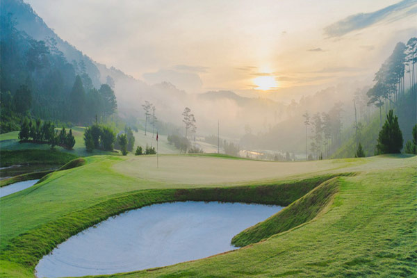 Sunrise at Sacom Golf Club, Dalat