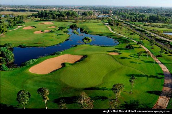 Play golf at Angkor Golf Resort