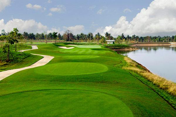 Play golf at Cambodia Golf & Country Club (B)