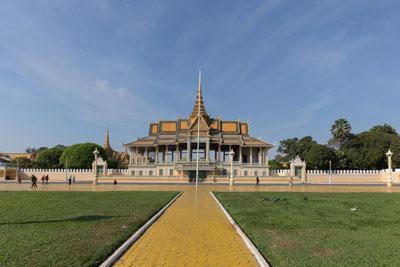 Phnom Penh arrival